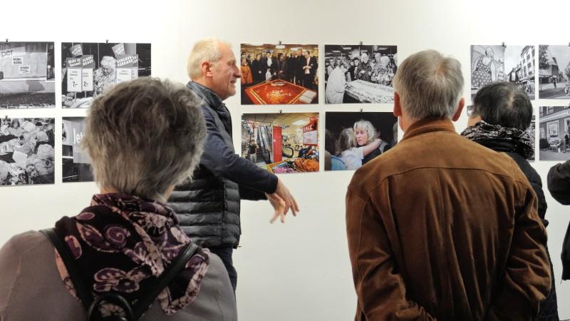 Udo Kreikenbohm am 30. April 2017 im Stadtmuseum Hattingen