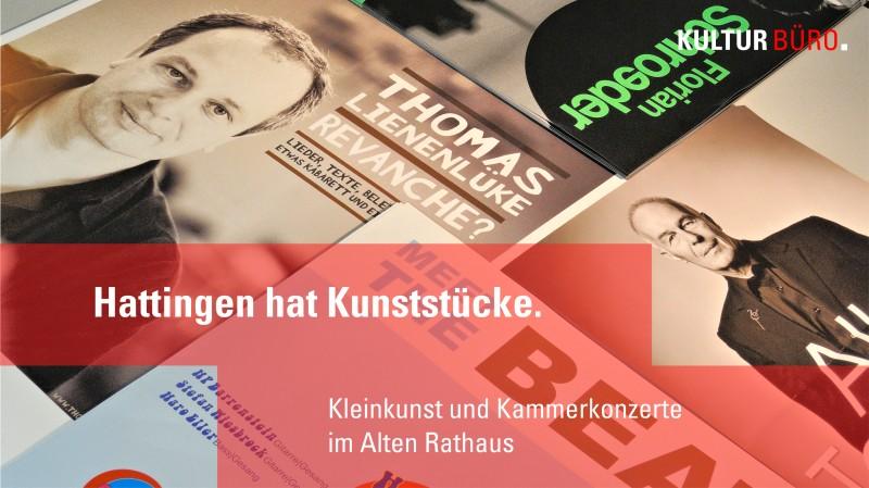 Werbebanner Spielzeit Herbst 2014 für die Webseite des Kulturbüros Hattingen