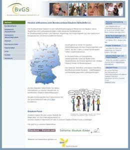 Webseitenpflege für den Bundesverband Glaukom-Selbsthilfe e.V.